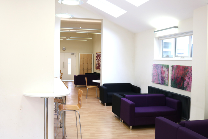 Common room sofas