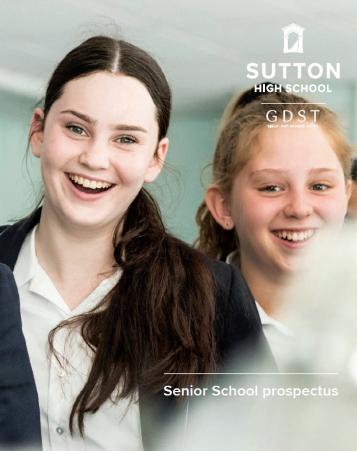 Senior School prospectus 19-20
